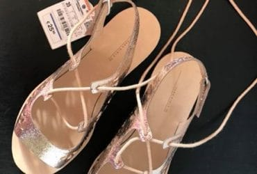 Zara girls sandals