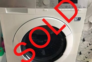AEG washing and dryer machine