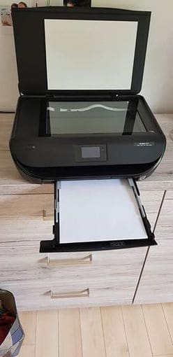 Laptop ACER and HP printer
