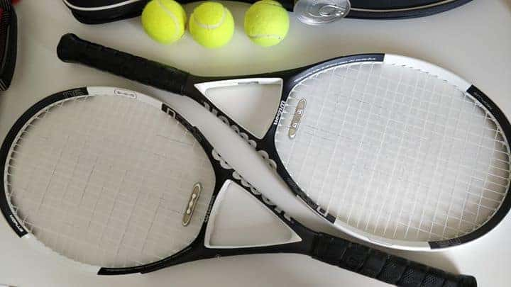 TWO WILSON TENNIS RACKETS