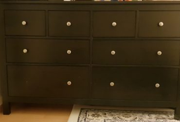 Dark brown ikea dresser 40€