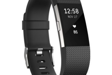 Fitbit Charge 2 black with extra golden strap