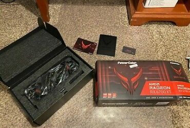 PowerColor Red Devil AMD Radeon RX 6700 XT Gaming Graphics Card 12GB GDDR6 RAM – 1440p Ultra-Wide Screen Gaming!